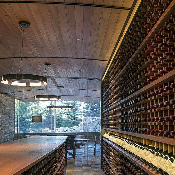 Slope Side Wine Cellar