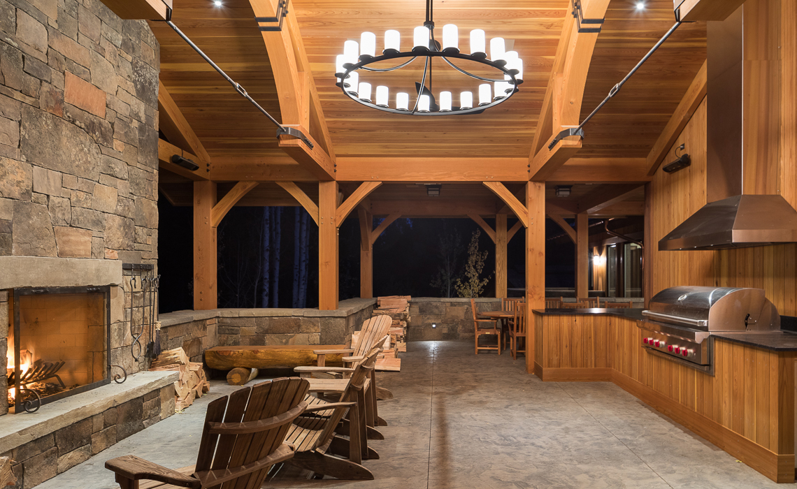 Granite Ridge Lodge Dembergh Construction Jackson Hole